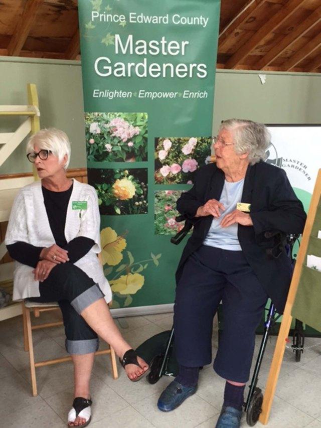 County Garden Show 2016 Kathy and Joyce