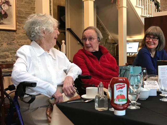Joyce, Barb and Susan