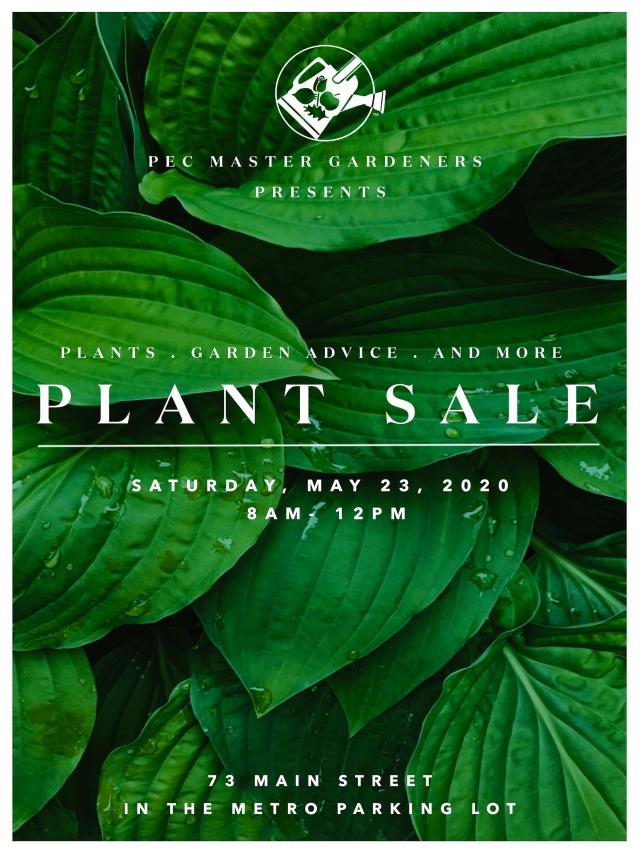 PLANT SALE POSTER 2 (8X10)